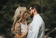 tatuaż ślubny