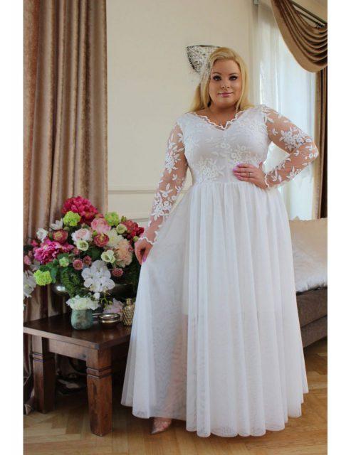 suknia plus size